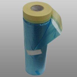SUNTAPE Маскировочная пленка со скотчем (Ю.Корея) 90см.х20м. (уп/60 шт.)