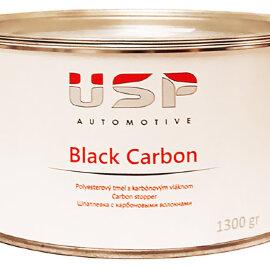 USP VIP Шпатлёвка Black Carbon полиэфирная наполнительная, 1,3кг (уп./6шт)