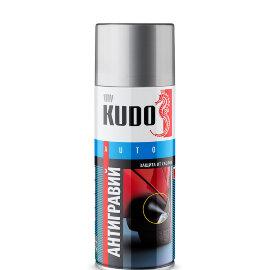KUDO Антиграв. покрытие-спрей (черный), 0,52л, (уп/6шт), арт. KU-5222