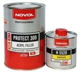 NOVOL PROTECT 300 Грунт акриловый 4+1MS (серый), 1л+0,25л шт (уп/6шт.), арт.37011